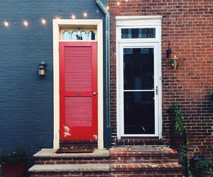 door, home, and house image