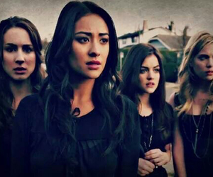 emily, aria, and pretty little liars image