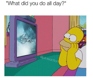pll, funny, and simpsons image