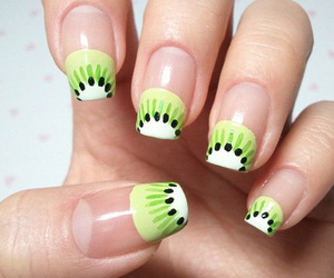 nails, kiwi, and fruit image