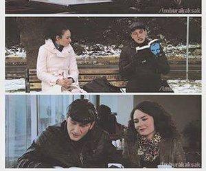 couple, eylul, and leyla ile mecnun image