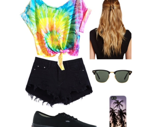 outfit, outfit ideas, and tie dye image