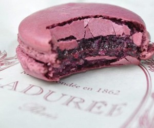 laduree, macarons, and sweets image