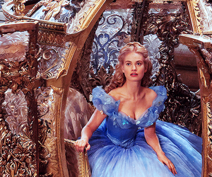 lily james and cinderella image