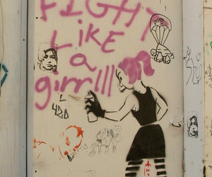 girl, feminism, and feminist image