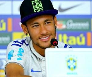 neymar, smile, and neymarjr image