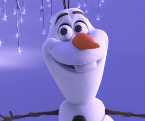 olaf, frozen, and justin bieber image