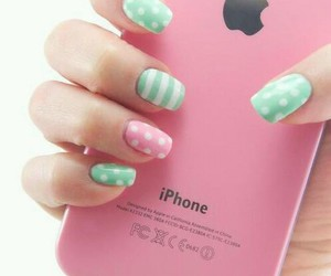 apple, green, and hand image