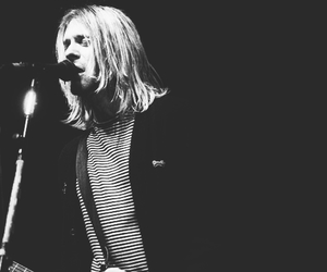 black and white, rock and roll, and singer image
