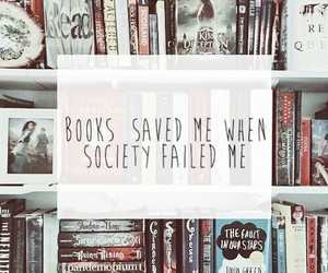 books, lux, and paper towns image