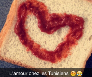 tunisia, amour, and coeur image