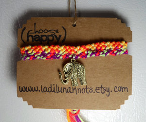 boho, bracelets, and bright image