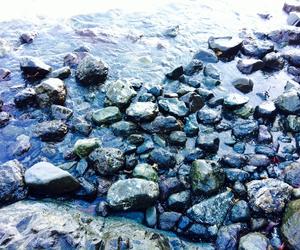 beach, calm, and grunge image