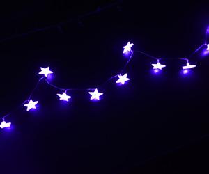 light, stars, and blue image