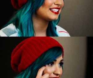bluehair, demi, and warrior image
