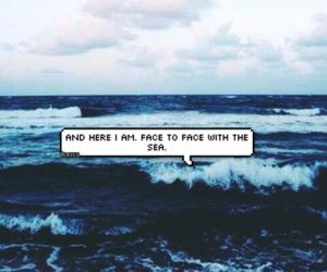 alone, amor, and mermaid image