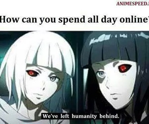 funny, anime, and internet image