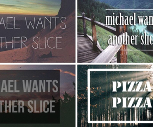 5 seconds of summer, 5sos, and pizza's song image