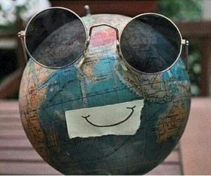 smile, world, and happy image