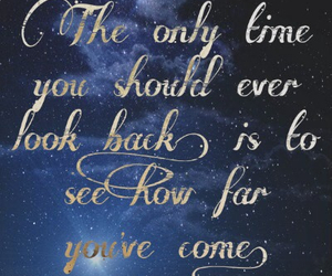 quote, stars, and universe image