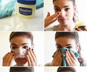 diy, blackheads, and vaseline image