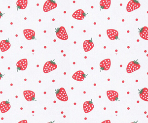 dots, iphone, and strawberry image