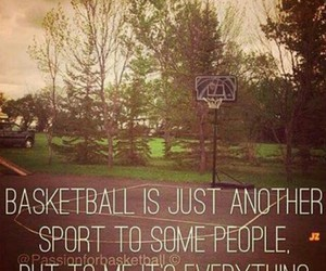 Basketball, everything, and life image