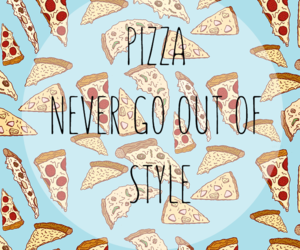 background, pizza, and wallpaper image