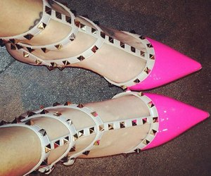 luxury, pink, and shoes image