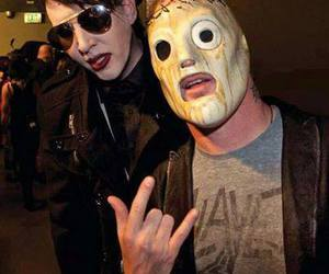 Marilyn Manson, slipknot, and corey taylor image