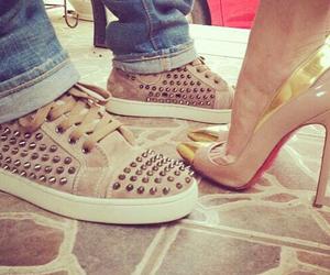 couple, shoes, and fashion image