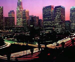 city, la, and los angel image