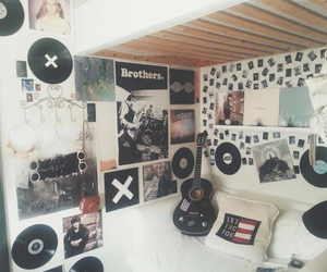 bedroom, rock, and goals image