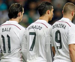 bale, real madrid, and benzema image