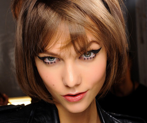 model, Karlie Kloss, and Anna Sui image