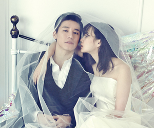 couple, yoon seung ah, and kim moo yeol image