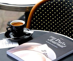 black, cafe, and cool image