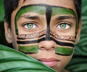 green, photography, and people image