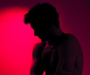 boy, red, and aesthetic image