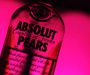 pear, pink, and absolut image