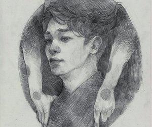 art, Chen, and exo image