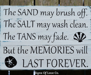 quote, sign, and summer memories image