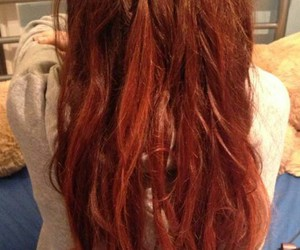 beautiful, ginger, and red hair image