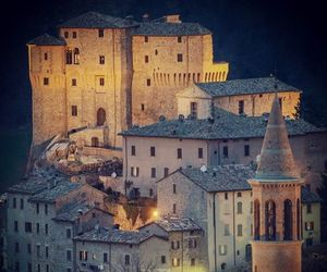 castle, italy, and night image