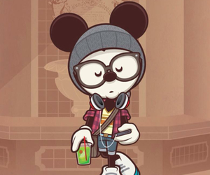 mickey and hipster image