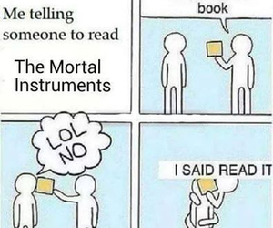 book, funny, and read image