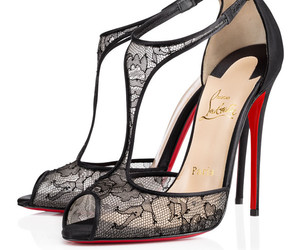 black, heels, and Couture image