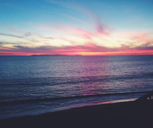 beach, coast, and beauty image
