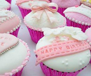 birthday, cupcakes, and fashion image