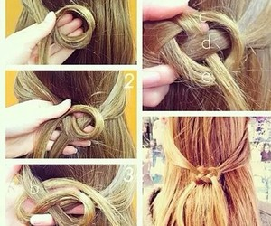 party, diy hairstyle, and party hairstyle image